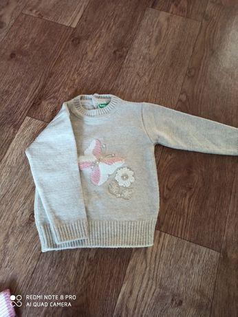 Детский свитер на осень-зиму