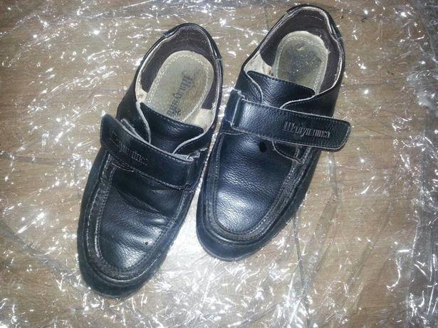 Туфли кожаные 34 р 21 см
