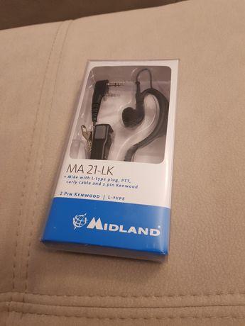 Zestaw słuchawkowy Midland