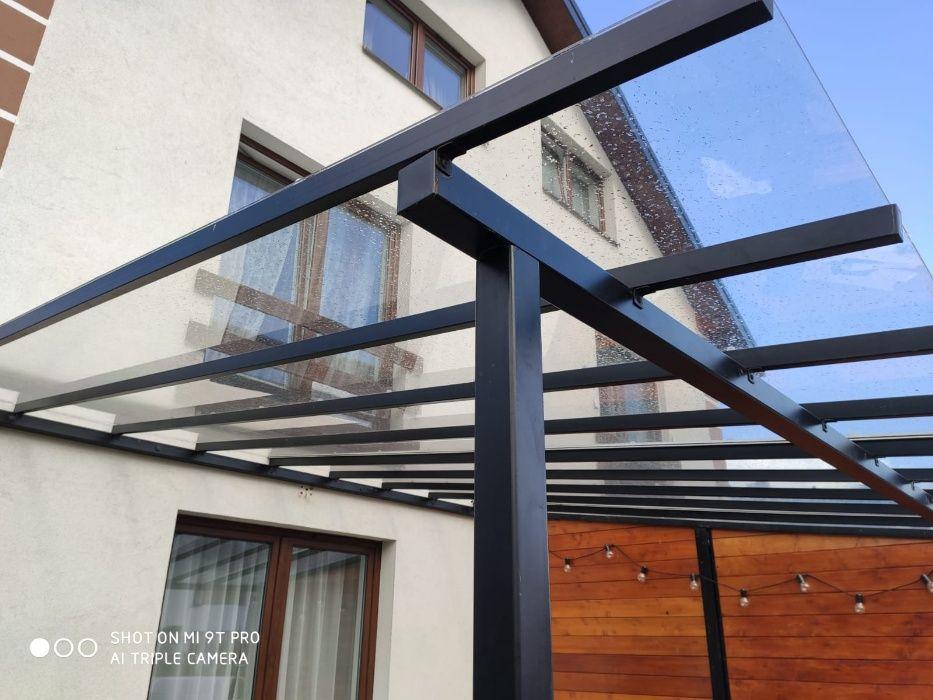 Poliwęglan lity 4m do zadaszenia tarasów, balkonów, daszki. Od 4,5,6,8 Lipsk - image 1