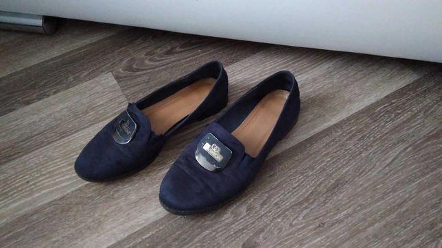 Туфли школьные лодочки стелька 24,5