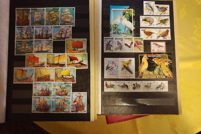 znaczki pocztowe klasery całość na sztuki także Chińskie