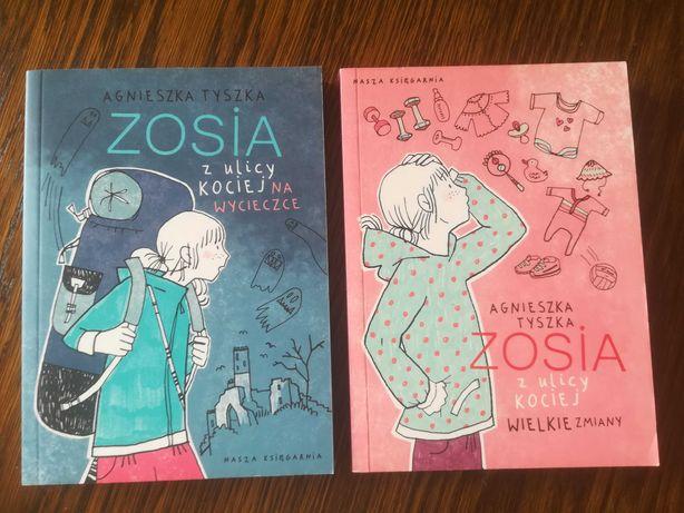 Książki z serii Zosia z ulicy Kociej część 6 i 7
