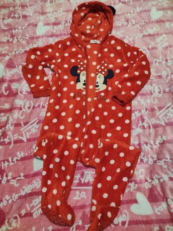 Pijama polar Minnie 5-6anos