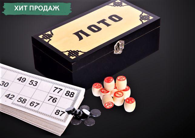 Хит! Комплект настольной игры Русское лото в шкатулке ZELART 9903