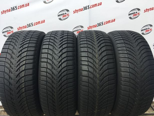 Шини 215/55 R16 MICHELIN ALPIN A4 (Протектор 6,5mm), 4 шт