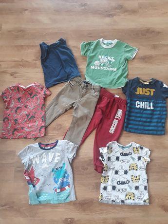 ubranka dla chłopca 92/98 -zestaw . wysyłka 5zł