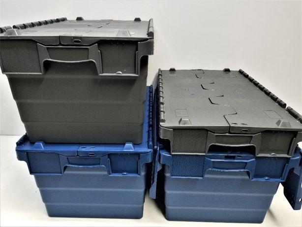 Pojemnik Kurierski Transportowy Magazynowy Skrzynka Plastik 60x40x41cm