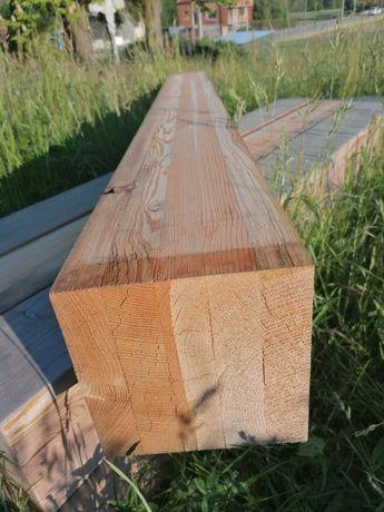 Kantówka klejona belki drewniane 20x20 cm x 220cm modrzew syberyjski