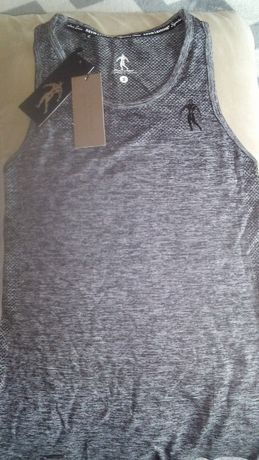 Tanktop gray S Kevine Levrone nowy