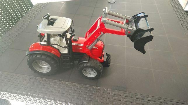 Brinquedo trator BRUDER Massey Ferguson 7480