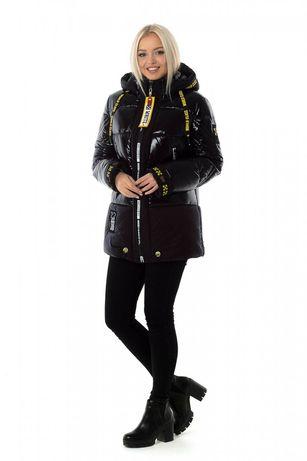 Срочно Куртка женская зимняя OFF WHITE (цвет черный)