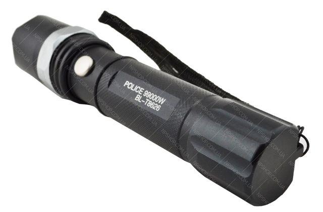 Тактический ручной фонарик Police BL-T8626 с зуммом