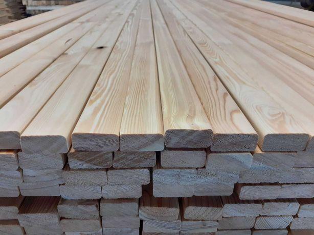 Listy drewniane - Modrzew Syberyjski 21x45mm