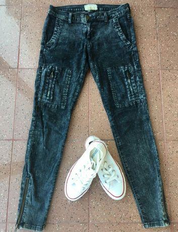 Стильные скини,джинсы Current Elliott мягкие,весенние ,размер 27/S