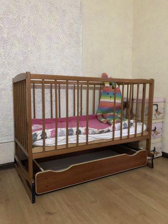 Ліжечко кроватка матрас