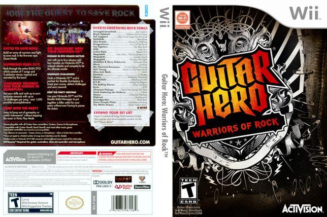 Gra Guitar Hero: Warriors of Rock [Wii]