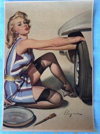 Плакат часів СССР Розмір 30/42