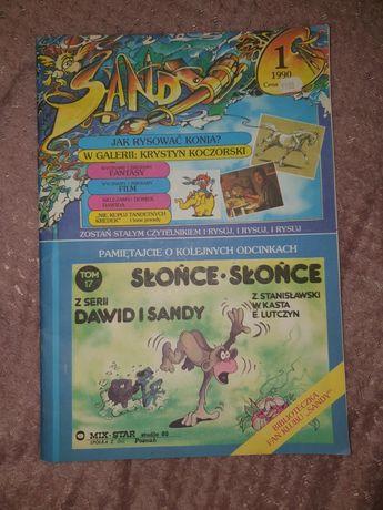 Dawid i Sandy 1 numer rok 1990
