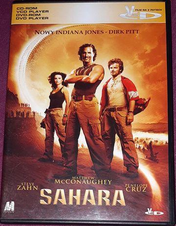 VCD na dwóch płytach film Sahara