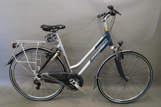 Lekki rower holenderski Gazelle Noble Lite Alfine Carbon