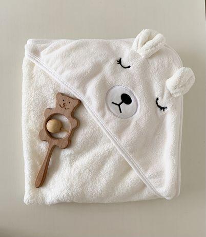 Полотенце детское  банное для малышей,младенцев