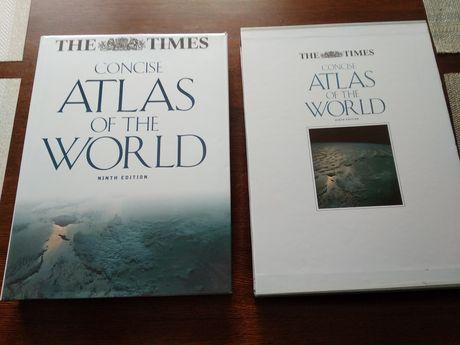 Atlas geograficzny świata po angielsku