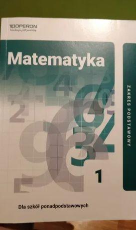SPRZEDAM - Matematyka do klasy 1 szkoły średniej, zakres podstawowy