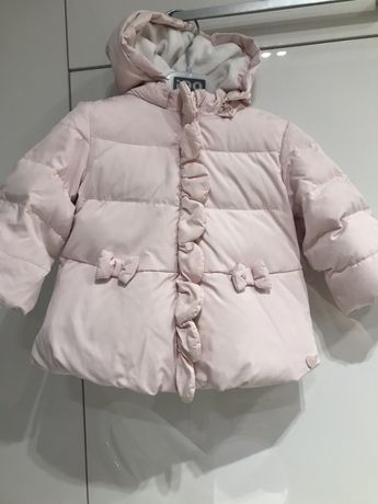Нарядна пухова куртка Chicco (рукавички подарунок)зимняя куртка Chicco