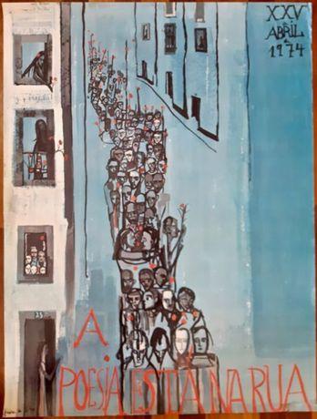 Cartaz - A poesia está na rua - 1974