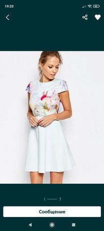 Платье люкс бренда Ted Baker, р. 2 / uk 10