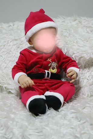 Roupa Pai Natal 12m