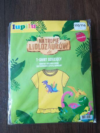 T-shirt dziecięcy z serii Lidlozaury-NOWY