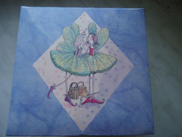 Коробочка Шкатулка Fairy Wishes Подарок Выдвижной ящик Шир.12,5 Выс.10