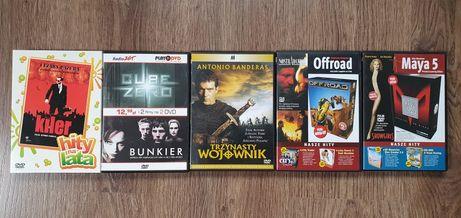 DVD Kiler, Cube Zero, Showgirls, Trzynasty Wojownik, Bunkier