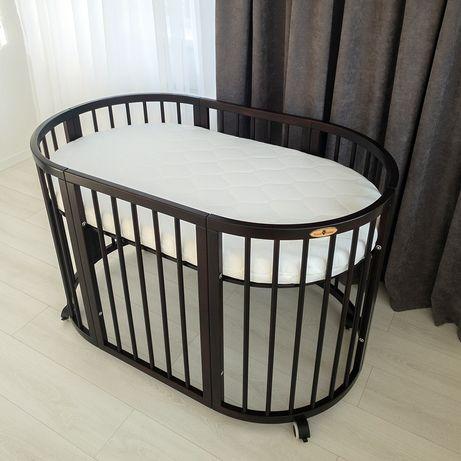 Детская кроватка ( овальная , круглая )