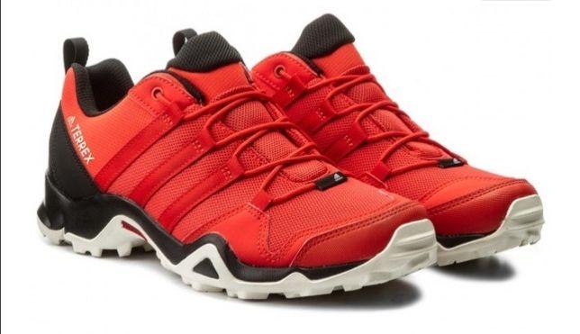 Buty męskie Adidas AX2 R - Rozmiar 45 - Czerwone