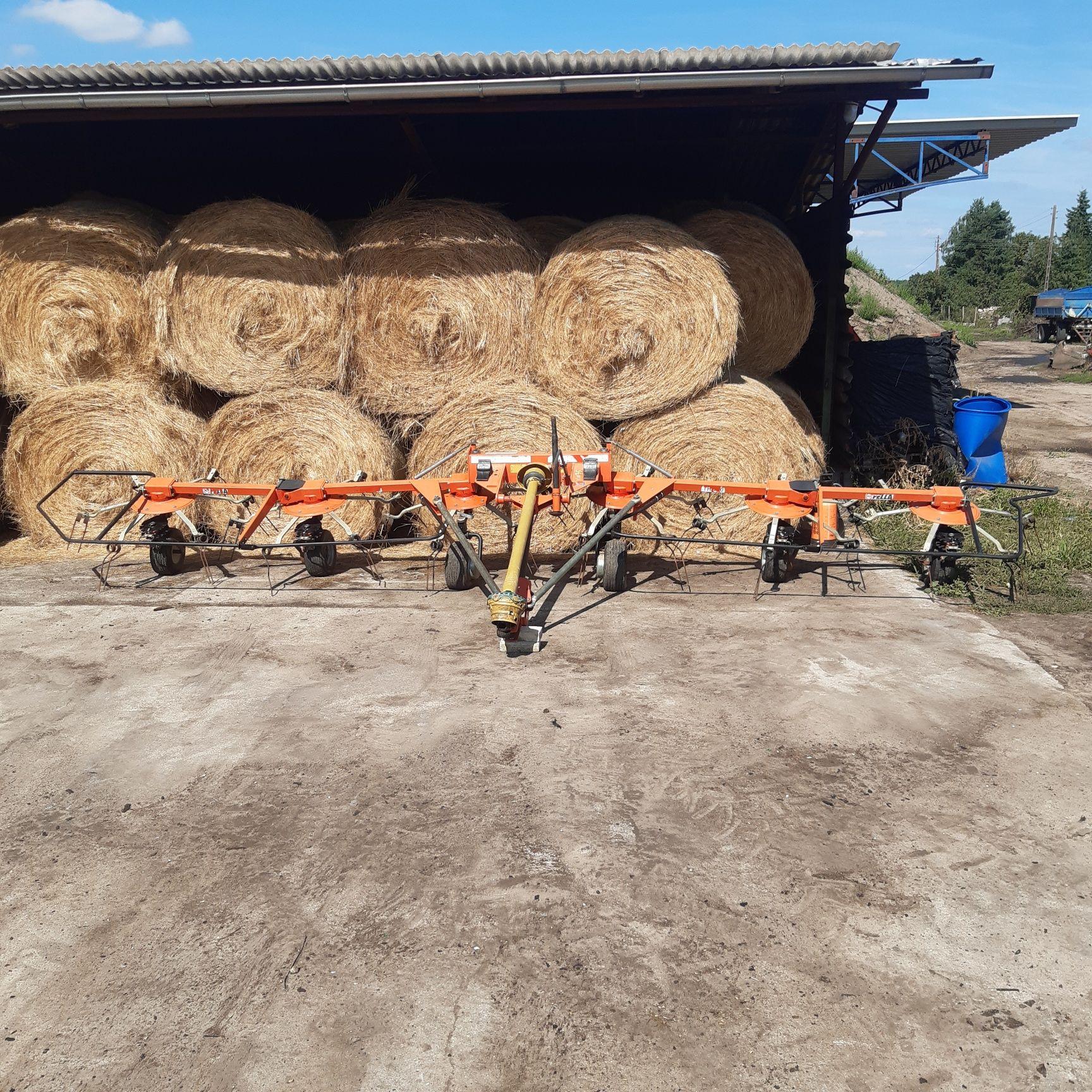 Przewracarka przetrzasarka pajak siana trawy FELLA th 790 zamiana kuhn