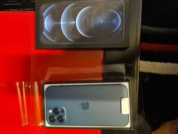 Iphone 12 PRO Max 256 GB pacífic blue, selado, ainda por activar