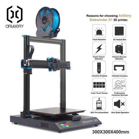 3D принтер Artillery Sidewinder x1 (НАЛИЧИЕ!)