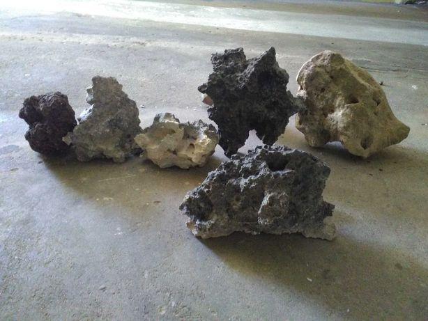 Pedras para aquário