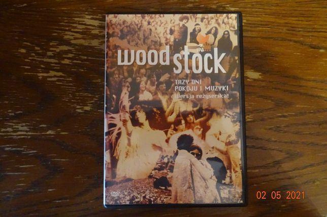 woodstock - trzy dni pokoju i muzyki, płyta dvd, w idealnym stanie.
