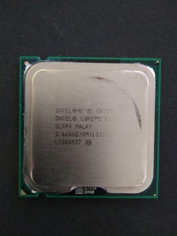 Intel® Core™2 Duo Processor E6750 4M Cache, 2.66 GHz, 1333 MHz FSB