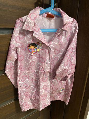 Plaszczyk dzieciecy z Dora roz. 116cm