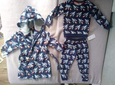 Piżama+szlafrok dla chłopca