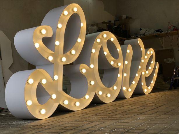 Wynajem napis miłość love serce pudło z balonami ciezki dym pokrowce !