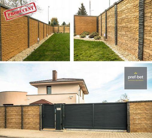 Dwustronne ogrodzenia betonowe - TORUŃ!!!