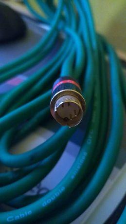 Kabel svideo, SVHS ok. 10m, profesjonalny