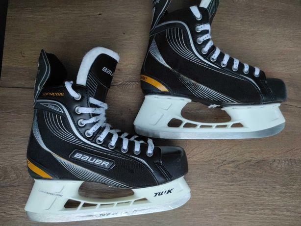 Коньки хоккейные Bauer Supreme One 20, размер 42, ледовые