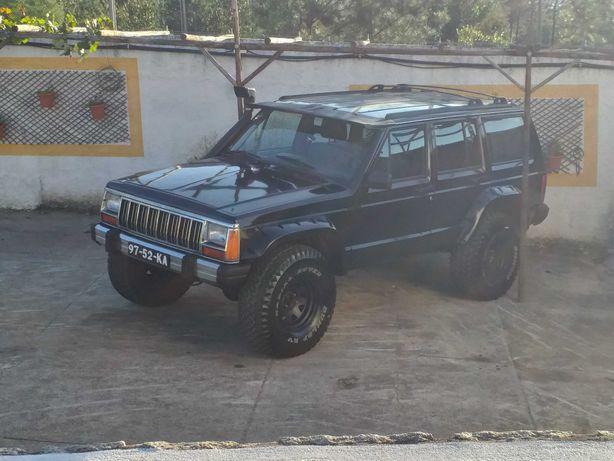 Jeep cherokee xj 2.1
